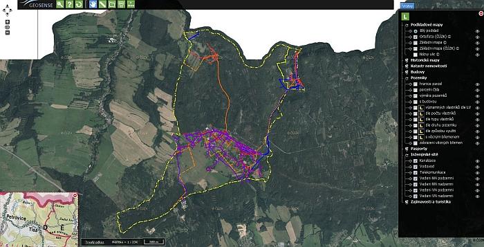 Mapový portál - více než jen technická mapa obce  Obec Tisá f2c9e49750a5c